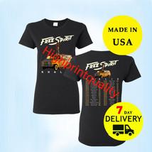 Khalid Shirt Free Spirit world tour 2019 T-Shirt Women Black Tee Size M-3XL - $24.99+