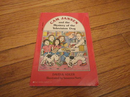 BOOK David A. Adler 'Cam Jansen and the Mystey of the Television Dog' Sc... - $1.99