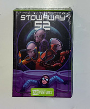 NIB STOWAWAY 52 GameWright CardVentures 1 Card Game Excellent by Floyd ... - $13.71