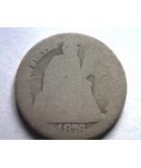 1876-CC SEATED LIBERTY DIME FAIR+ F+ ORIGINAL COIN FROM BOBS COINS FAST SHIPMENT - €10,72 EUR