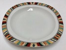 "Mikasa Tamarack Fine China L 5807 Salad Desert Plate 7 7/8"" Southwestern... - $19.79"