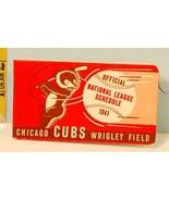 1941 Chicago Cubs Baseball Club Flip Book National League Schedule #AG - $84.15