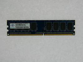 1GB Nanya DDR2 800mhz pc2-6400 NON ECC Unbuffered RAM Desktop Memory Module