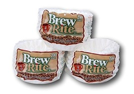 Brew Rite 4 Cup Coffee Basket Disposable Filters - 600 Ct - $18.90