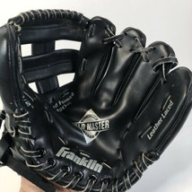 "Franklin Field master Series Youth Size Baseball Glove 4609 Black 9.5"" RHT  - $12.86"