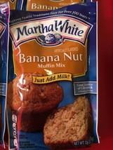 Martha White Banana Nut Muffin Mix 7.6oz 3 Packets - $19.24