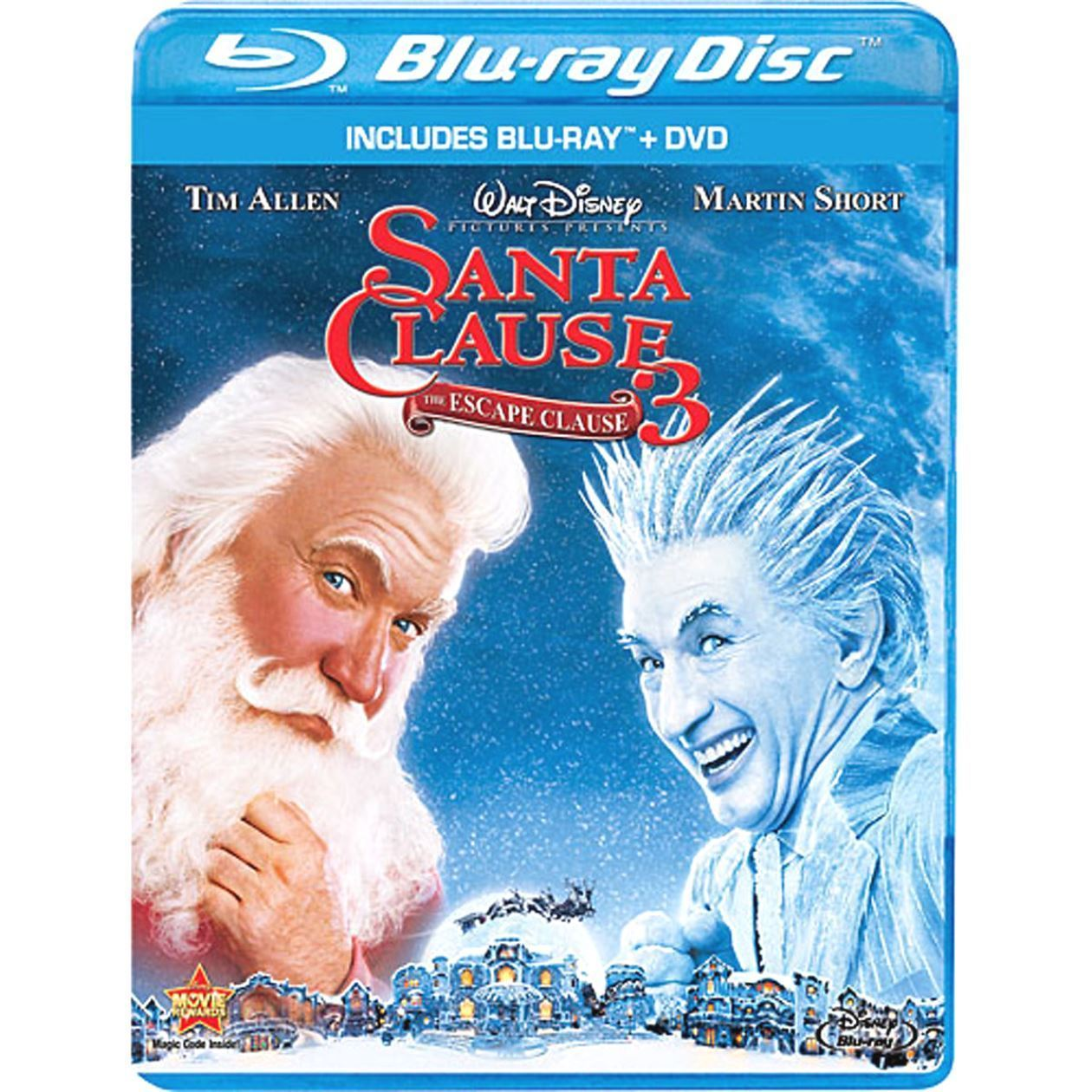 The Santa Clause 3: The Escape Clause (2011 Blu-ray/DVD, 2-Disc Set) NEW/SEALED