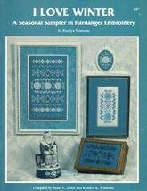 I Love Winter Hardanger Embroidery Seasonal Sampler Rosalyn Watnemo Book image 2