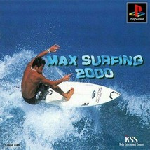 Playstation Max Surfing 2000 Japan Import Includes Manual - $29.99