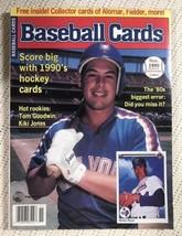 1990 November Baseball Card Magazine w/Cards Gregg Jeffries Great Cover - $27.87