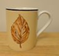 Corelle Coordinates Tanglewood Stoneware Coffee Mug Cup Leaves Corning C... - $0.99