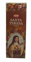 Hem Santa Teresa Incense Sticks Agarbatti Fragrance 6 Pack of 20 Sticks Each - $11.06