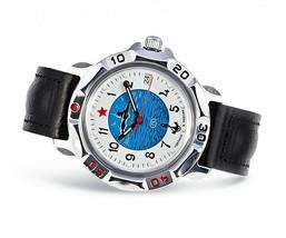 VOSTOK KOMANDIRSKIE. Men`s Russian solder military mechanical watch. 811055 - $26.50