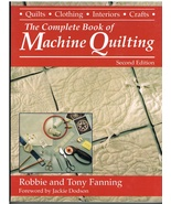 The Complete Book of Machine Quilting Sewing Quilt Craft Book - $18.00
