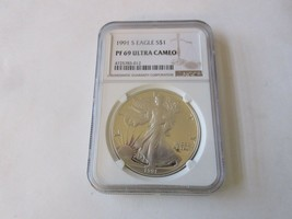 1994 1 oz American Silver Eagle Coin BU with Light Spotting