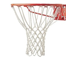 Basketball Hoop Net Replacement Indoor Outdoor Sports Goal Rim Nylon Whi... - $5.38