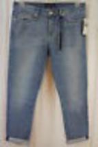 Juicy Jean Couture Talla 27 S Cydell Lavado Relax Flaco Capri Recortada ... - $69.68