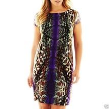 R&K Originals Mirror Print Dress Plus Size 1X New MSRP $70.00 - $29.99