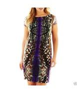 R&K Originals Mirror Print Dress Plus Size 1X New MSRP $70.00 - $24.99