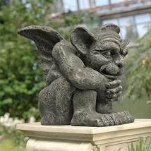 Gothic Protector Gargoyle Sculpture Medieval Guardian Home Garden Lawn S... - $98.95