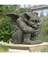 Gothic Protector Gargoyle Sculpture Medieval Guardian Home Garden Lawn S... - £76.07 GBP