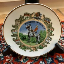 """VINTAGE GIFTCRAFT TORONTO SOUVENIR OF CANADA  6"""" PLATE WITH PROVINCES HO... - $16.99"""