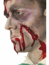 Self Stitched Halloween Fake Latex Scar Fancy Dress Zombie Special FX Make Up - $16.63