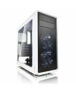 Fractal Focus G No Power Supply ATX Mid Tower w/ Window (White) - $181.11