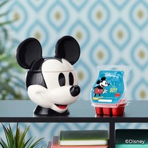 Mickey Mouse Scentsy Warmer + wax bar - $79.00