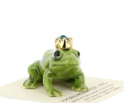 Birthstone Frog Prince May Simulated Emerald Miniatures by Hagen-Renaker image 6