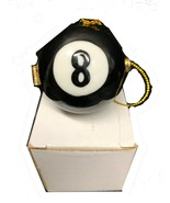 Ceramic 8 Ball and Ring or Earring Holder - $16.83