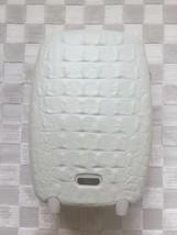 Alexander Mc Queen Samsonite White Crocodile Trolley Upright Luggage Suitcase - $1,089.00
