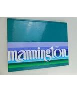 1987 Mannington Floors/Flooring Catalog/Book/Designs Harcover - $15.83