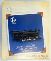 Hallmark  Pennsylvania B6 Steam Locomotive Lionel 2005  Keepsake Ornament - $19.79