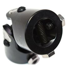 "Forged Steel Yokes Steering Shaft Universal U-JOINT 1"" DD TO 1"" DD Black image 9"