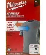 Milwaukee 410G-S WorkSkin Lightweight Performance Work Shirt Small USA - $19.80