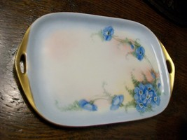 Rosenthal Selb Bavaria DONATELLO Floral Hand Painted Double Handle Small... - $14.50