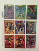 1997 Fleer X-men Complete Card Set in 9 Sleeve Pocket Protectors Sleeves - $24.44