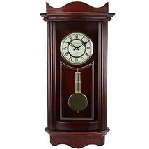 Bedford Clock Collection Weathered Cherry Wood 25 - $110.00