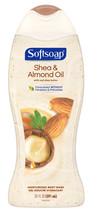 Softsoap Moisturizing Body Wash, Shea & Almond Oil, 20 Ounce - $7.95