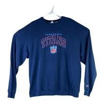 Vintage Tennessee Titans Champion Mens Size XXL Blue NFL Pullover Sweats... - $29.66