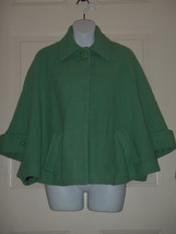 CAbi Wool Blend Cape Carriage Swing Jacket #168 Retail $149 Size S M Min... - $55.64