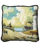 Dreamers Throw Pillow - artist Charles Wysocki - $39.95