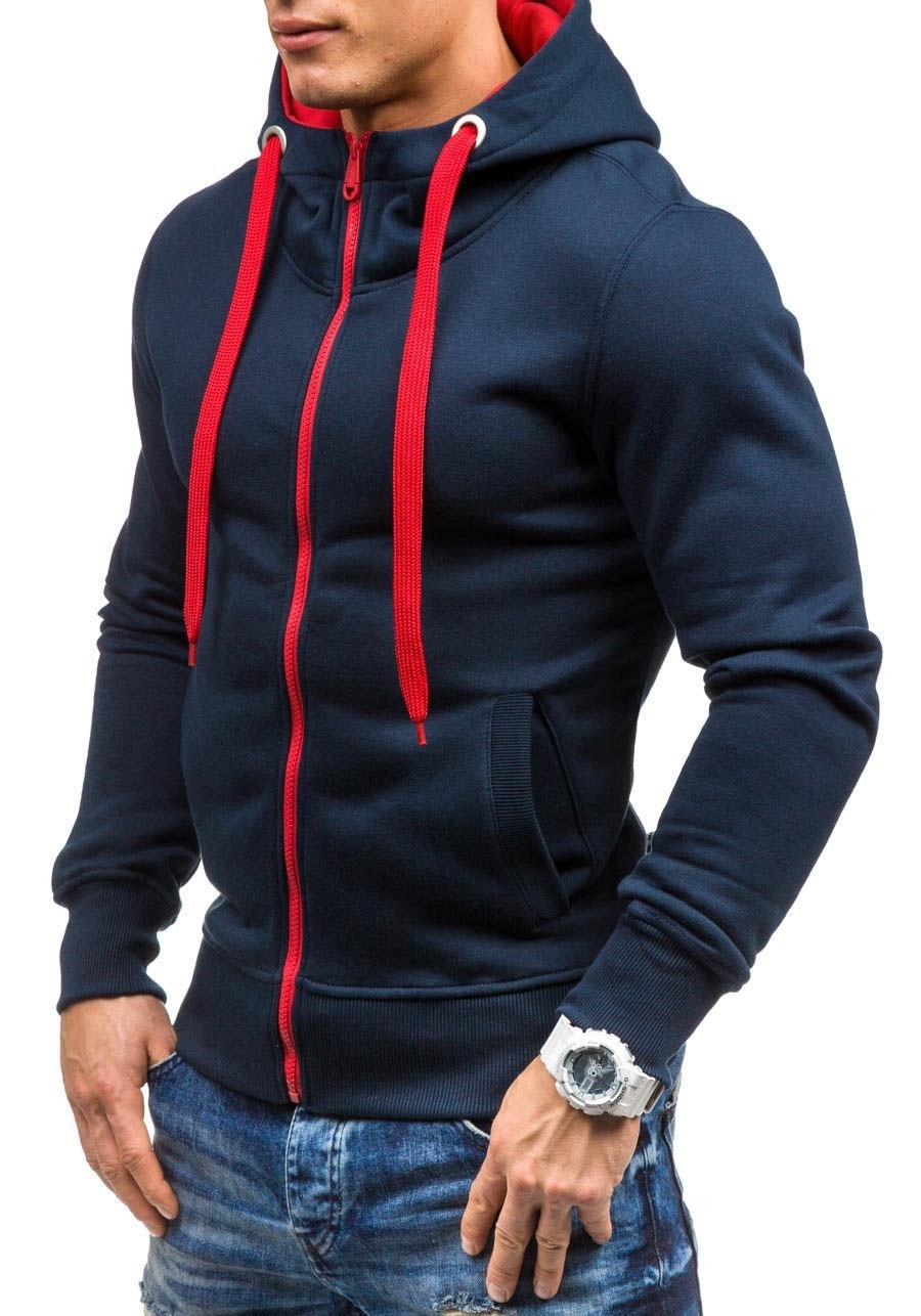 Mens Casual Hoodies Coat (M/L/XL/XXL) image 9