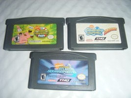 SpongeBob SquarePants SuperSponge ATLANTIS Nintendo Game Boy Advance SP ... - $11.29