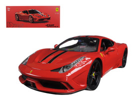 Ferrari 458 Red Speciale Signature Series 1/18 Diecast Model Car by Bburago - $90.99