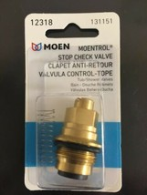 NEW 12318 MOEN Stop Check Valve Tub & Shower Stop Kit Intragral Replacem... - $24.75