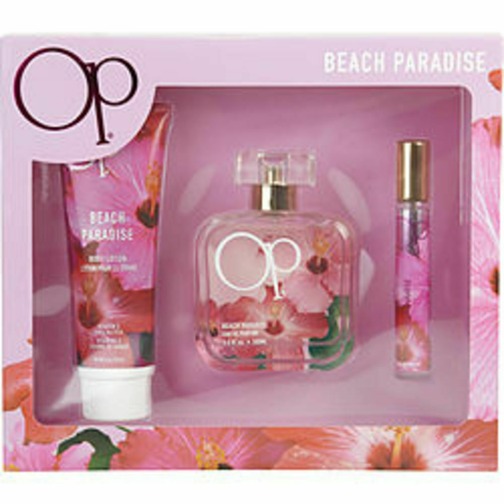 Primary image for New OP BEACH PARADISE by Ocean Pacific #330198 - Type: Gift Sets for WOMEN