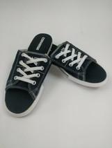 New Converse All Star Black Cutaway Canvas Flip Flops Sandals - Women's ... - $137.61