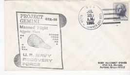 GEMINI GTA-10 NAVY RECOVERY FORCE ATLANTIC USS ALLEN M SUMNER JUL 21 1966  - $2.98